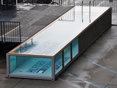 SW-40 Commercial Shipping Container Pool